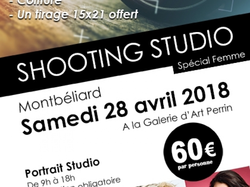 Shooting Studio Montbéliard 28 avril 2018